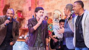 """Amigos do Pagode 90 e Di Ferrero cantam """"Trem das 11"""", de Adoniran Barbosa"""