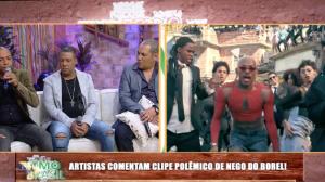 """Faa e convidados comentam """"Me Solta"""", clipe polêmico de Nego do Borel"""