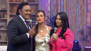 Após 15 anos, Rinaldo e Liriel se reencontram e cantam juntos na TV