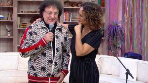 Faa Morena recebe cantor e compositor Silvio Brito