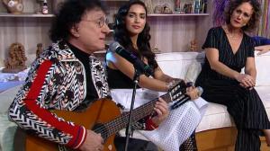 """Silvio Brito canta """"Terra dos meus sonhos'' e emociona Faa Morena"""