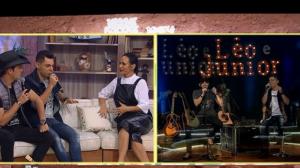Léo e Júnior falam sobre parceria musical com a Peanuts