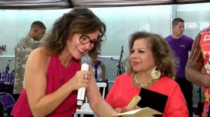 Faa Morena relembra homenagem à cantora Angela Maria