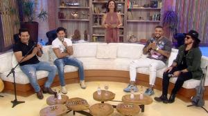 Naldo, Cleyton Rodriguez e dupla Eric e Ruan agitam palco do Ritmo Brasil