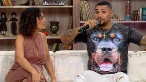 Naldo relembra encontro com ídolo Chris Brown: ''Me chamou pelo nome''