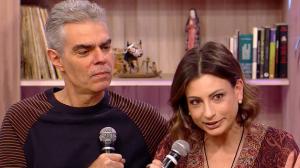 """Filho de Chico Anysio e esposa falam de peça """"Vem transar comigo"""""""