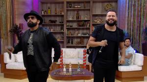 """Diego e Arnaldo agitam o Ritmo Brasil com o sucesso """"Relógio Parado"""""""