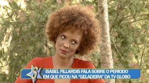 Isabel Fillardis revela por que foi demitida de emissora