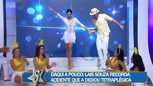 Daniela Albuquerque abre o Sensacional ao som de Seu Jorge
