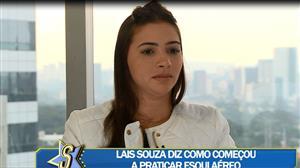 """Ex-ginasta Lais Souza fala sobre tetraplegia: """"Ainda não está sendo fácil"""""""