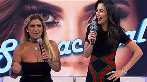 """Daniela Albuquerque recebe Rita Cadillac no """"Sensacional"""" desta quinta (22)"""