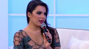 Emilly Araújo é a convidada do Sensacional desta quinta-feira (5)