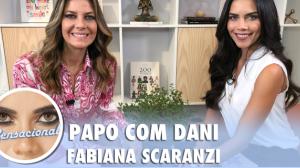"""Fabiana Scaranzi virou jornalista após doença do irmão: """"Fiquei sem chão"""""""