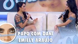 """""""Aprendi a não revidar"""", revela Emilly Araújo sobre ataques de haters"""