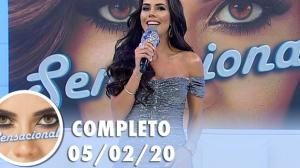 Sensacional com Emilly Araújo (05/03/2020) | Completo