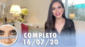 Sensacional com Arnaldo Saccomani e Valesca Popozuda (16/07/20) - Completo