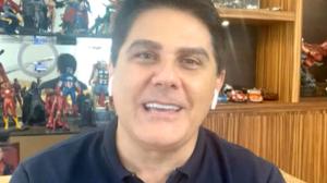 Cesar Filho conta como conheceu a esposa Elaine Mickely