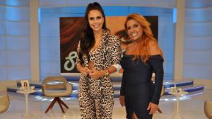 """Daniela Albuquerque recebe Rita Cadillac no """"Sensacional"""" desta quinta (11)"""