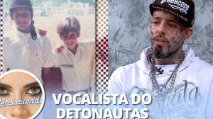 """Tico Santa Cruz relembra problemas na infância: """"A gente foi despejado"""""""