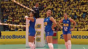 Assista ao terceiro set do amistoso entre Brasil e Polônia