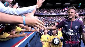 RedeTV! mostra bastidores da chegada de Neymar no Paris Saint-Germain