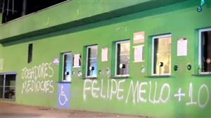 Torcida do Palmeiras se revolta após resultados ruins