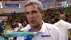 Hinode Barueri vence Vôlei Bauru por 3 sets a 2; veja os 2 primeiros sets
