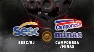 RedeTV! transmite Sesc RJ x Camponesa/Minas às 15h deste sábado