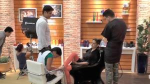 Bastidores: Sob Medida inaugura sal�o de beleza na Rede TV
