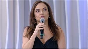 """Luiza Tomé explica polêmica com Lauro César Muniz: """"Eu me precipitei"""""""