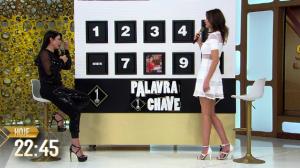 Luciana Gimenez recebe Sylvia Design no SuperPop