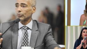 """""""Não fazendo gol"""": Solange Gomes comenta caso com Romário"""