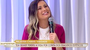 """Andressa Urach comenta incidente com hidrogel: """"Achei que iam me amputar"""""""