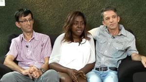 """""""A gente não quer mudar o mundo"""", diz mulher que tem dois maridos"""
