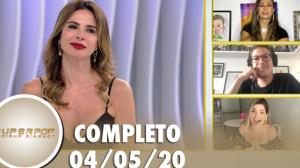 SuperPop com Valesca Popozuda, Fábio Porchat e Gkay (04/05/2020)   Completo