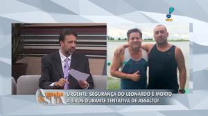 Seguran�a do cantor Leonardo � morto em tentativa de assalto (5)