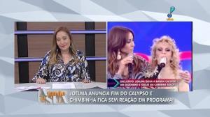 'Nunca imaginei fazer carreira solo', confessou Joelma(2)