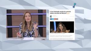 L�via Andrade diz ter provas sobre convite de reality (5)