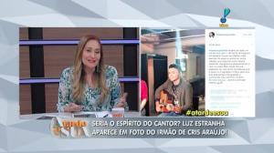 Esp�rito de Cristiano Ara�jo teria aparecido em foto de irm�o (5)