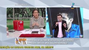 Sonia Abr�o reprova entrevista de Geraldo com namorado de Suzane (5)