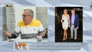 Carlos Alberto fala sobre nova namorada