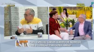 """Adnet para Carlos Alberto:""""Você abriu uma estrada e nós estamos asfaltando"""""""