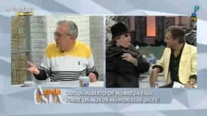 """""""Moacyr Franco é o artista mais injustiçado"""", diz Carlos Alberto"""