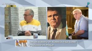 Carlos Alberto revela que reatou amizade com Batoré