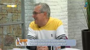 "Dani Calabresa: ""Ela é um sonho de consumo"", declara Carlos Alberto"