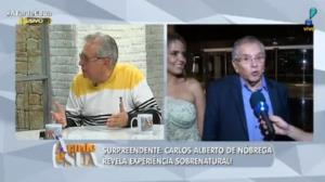 "Susto: ""Achei que tinha morrido"", revela Carlos Alberto sobre experiência"