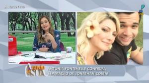 Antônia Fontenelle explica por que se separou de Jonathan Costa