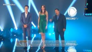 Rodrigo Faro, Luciana Gimenez e Ratinho se encontram. Saiba por quê