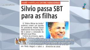 Silvio Santos passa concessão de emissora para as filhas