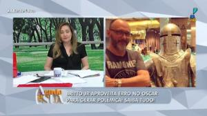 Britto Jr aproveita erro no Oscar e 'tira onda' de reality